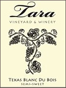 Tara Vineyard and Winery - Blanc du Bois