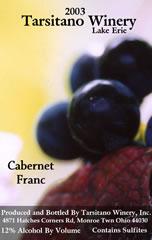 Tarsitano Winery-Cabernet Franc