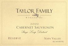 Taylor Family Vineyards-Cabernet Sauvignon