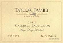 Taylor Family Vineyards-Cabernet Sauvignon