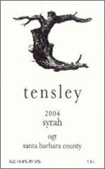 Tensley Wines-Syrah