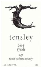 Tensley Wines-Syrah
