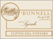The Bunnell Family Cellar-Syrah