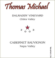 Thomas Michael Cellars-Cabernet Sauvignon