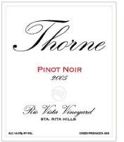 Thorne Wine-Pinot Noir