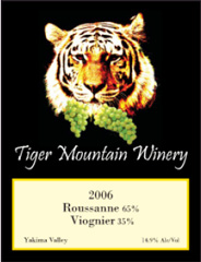 Tiger Mountain Winery-Roussanne viognier