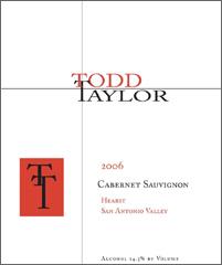Todd Taylor Wines Cabernet Sauvignon