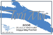 Torii Mor Winery-Olalla Vineyard Pinot Noir