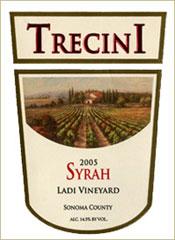 Trecini Cellars-Syrah