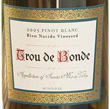 Trou de Bonde Bien Nacido Pinot Blanc