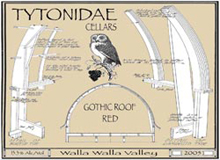Tytonidae Cellars-Gothic Roof Red