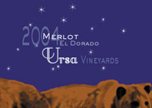 Ursa Vineyards-Merlot