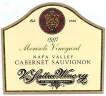 V Sattui Napa Valley Wine - Cabernet Sauvignon