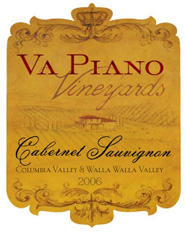 Va Piano Vineyards-Cabernet Sauvignon