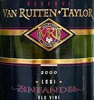 Van Ruiten Family Winery lodi zinfandel
