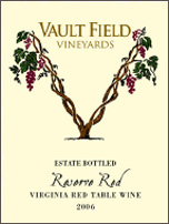 Vault Field Vineyards-Reserve Red