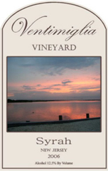 Ventimiglia Vineyard-Syrah