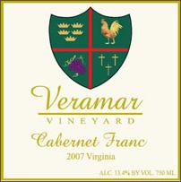Veramar Vineyard-Cabernet Franc