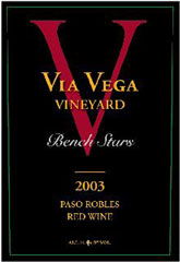 Via Vega Vineyard and Winery-Bench Stars