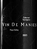 Vin De Manies Winery-Cabernet Sauvignon
