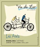 Vin Du Lac Winery-Les Amis Riesling