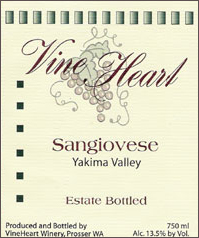 VineHeart Winery-Sangiovese