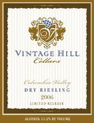 Vintage Hill Cellars-Dry Riesling