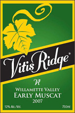 Vitis Ridge-Early Muscat