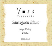 Voss Vineyards Sauvignon Blanc