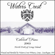 Waters Crest Winery - North Fork of Long Island Cabernet Franc