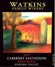 Watkins Family Winery-Cabernet Sauvignon