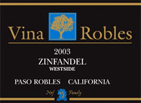 Vina Robles Winery Zinfandel