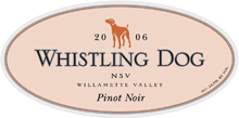 Whistling Dog Cellars-Pinot Noir