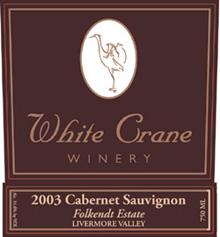 White Crane Winery Cabernet Sauvignon
