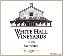 White Hall Vineyards Viognier