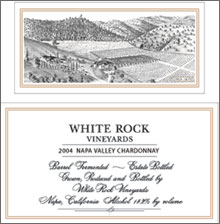 White Rock Vineyards-Chardonnay