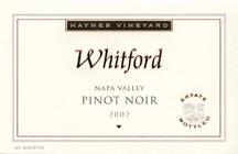 Whitford Cellars-Pinot Noir