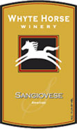 Whyte Horse Winery-Sangiovese