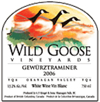 Wild Goose Vineyard and Winery-Gewurtz