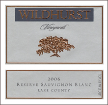 Wildhurst Vineyards-SauvignonBlanc