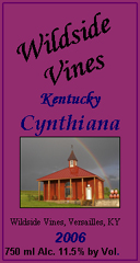 Wildside Vines Winery and Vineyard Cynthiana