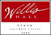 Willis Hall Winery-Syrah