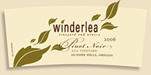 Winderlea Vineyard & Winery-Pinot Noir