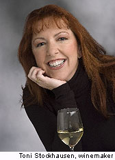 Windsor Vineyards winemaker, Toni Stockhausen