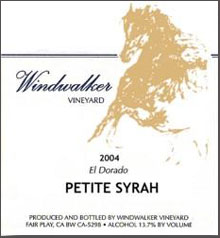 Windwalker Vineyard-El Dorado