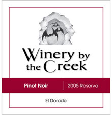 Winery by the Creek-Pinot Noir
