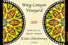Wing Canyon Vineyards-Chardonnay