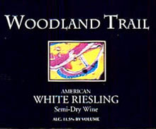 Woodland Trail Winery-Riesling