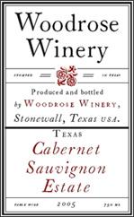 Woodrose Winery Cabernet Sauvignon