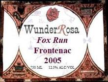 WunderRosa Winery-Frontenac